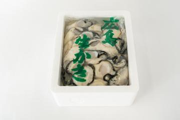 写真:むき身・広島菜漬セット